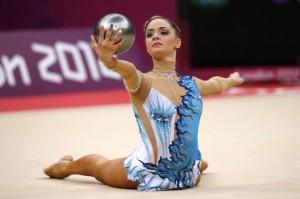 Cyprus' Chrystalleni Trikomiti performs