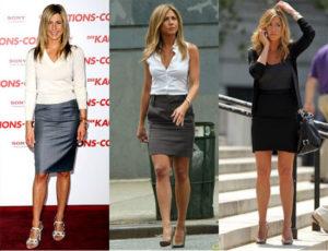 Jennifer-Aniston-Pencil-Skirts