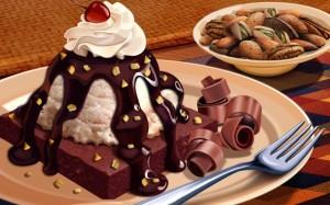 thanksgiving-food-fusion-art-illustrations-19201200-food-illustrations---chocolate-dessert-and-cereal-breakfast-73620
