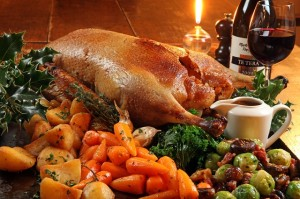 Roast-goose-with-baked-vegetables