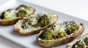broccoli-and-cheese-potato-skins