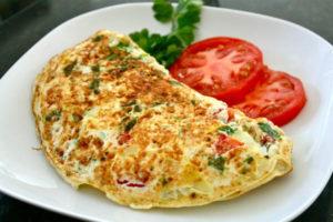 Low Oil Omelette