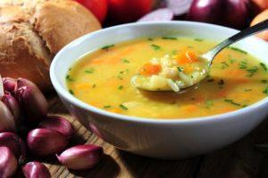 الحساء يحتوي على سعرات حرارية قليلة